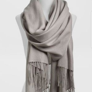 Accessories - Gray scarf pashmina